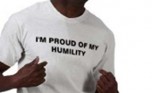 Being 'Proud' of Our Humility
