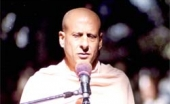 Choosing a Spot for Radhanath Swami